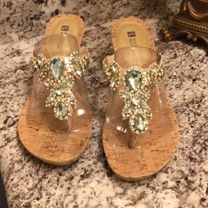 White Mountain dress sandals